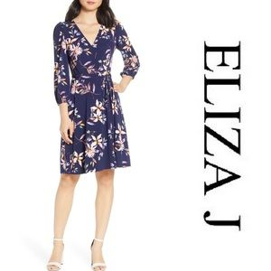 Eliza J Fit & Flare Dress